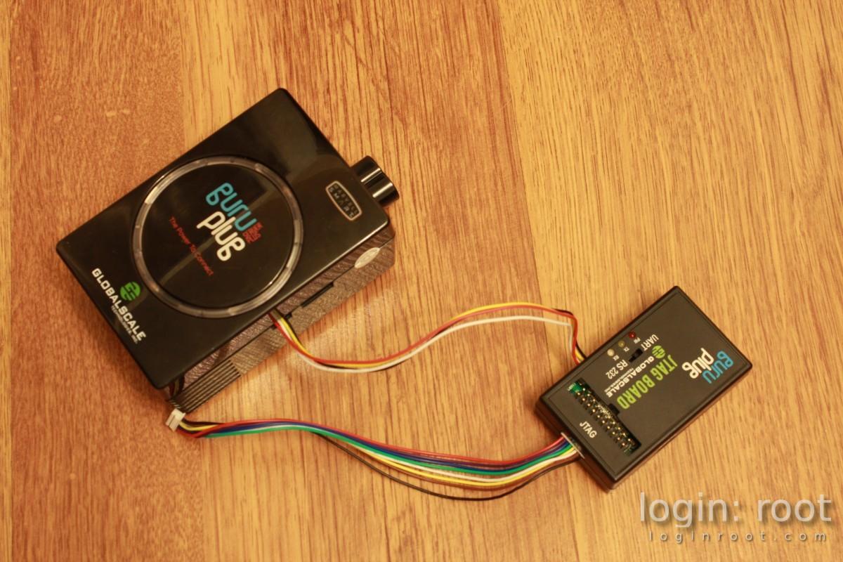 jtag serial cable with guruplug server plus